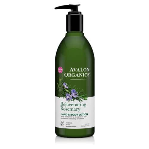 Avalon Økologisk Hånd- og kropslotion Rosemary Rejuvenating