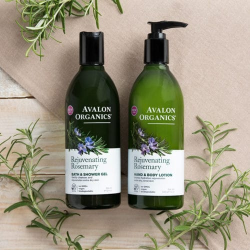 Avalon Økologisk Hånd- og kropslotion Rosemary Rejuvenating