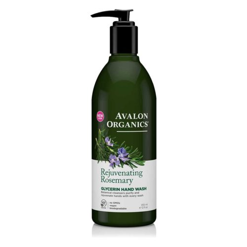 Avalon Økologisk Håndsæbe Rosemary Glycerin – med pumpe